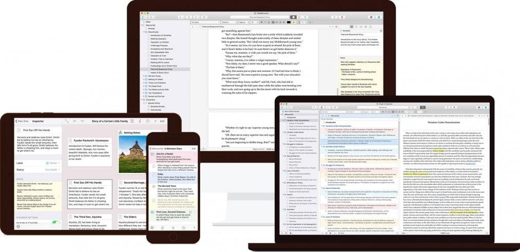 Die besten iPhone Apps für holistische Blogger und Freelancer Scrivener