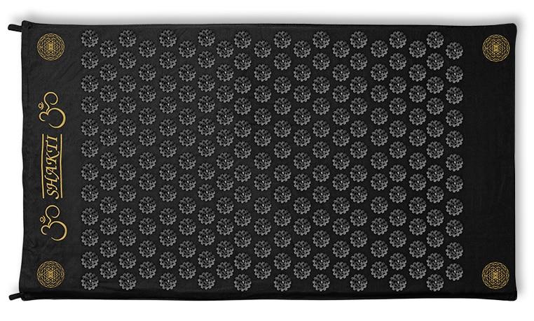 Die premium Akupressur-Matte ShaktiMat in schwarz