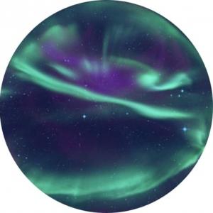 SEGA Homestar flux planetarium Scheibe Aurora Borealis