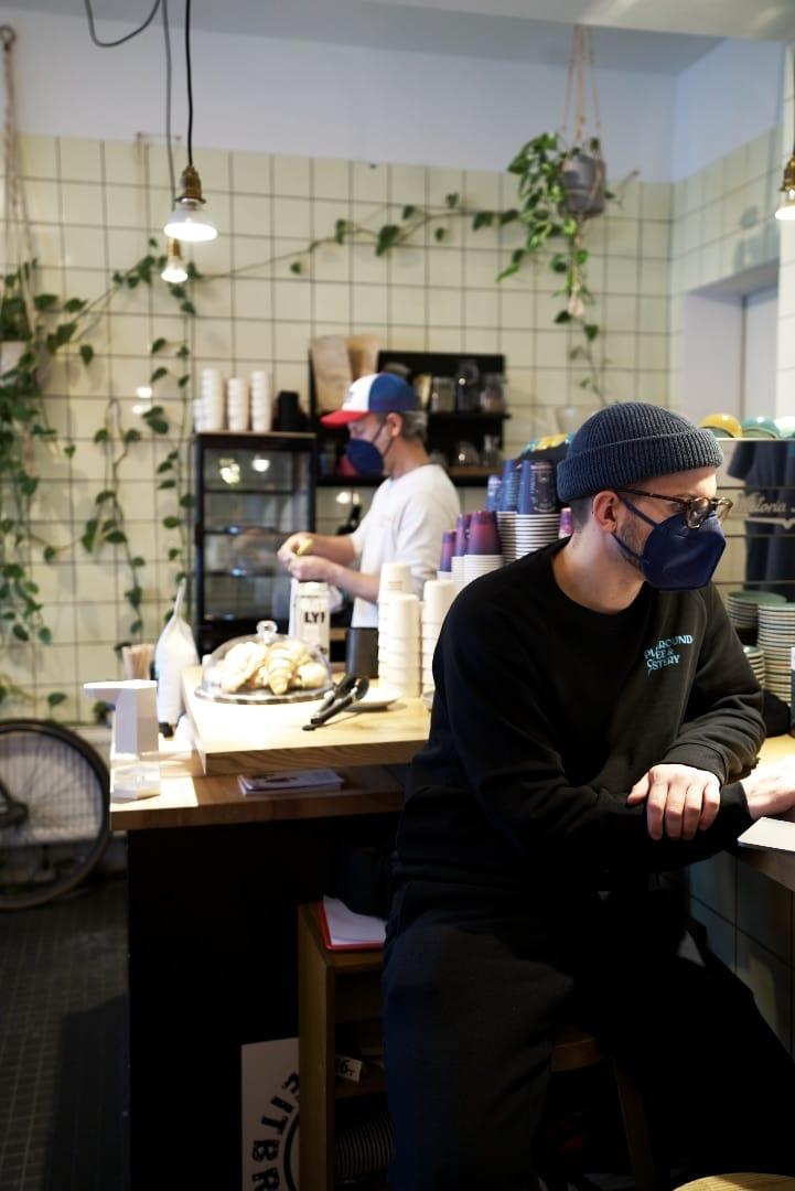 Matze und Veljko vom Playground Coffee St. Pauli