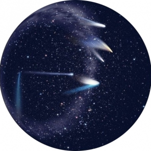 SEGA Homestar flux Planetarium Kometen Scheibe