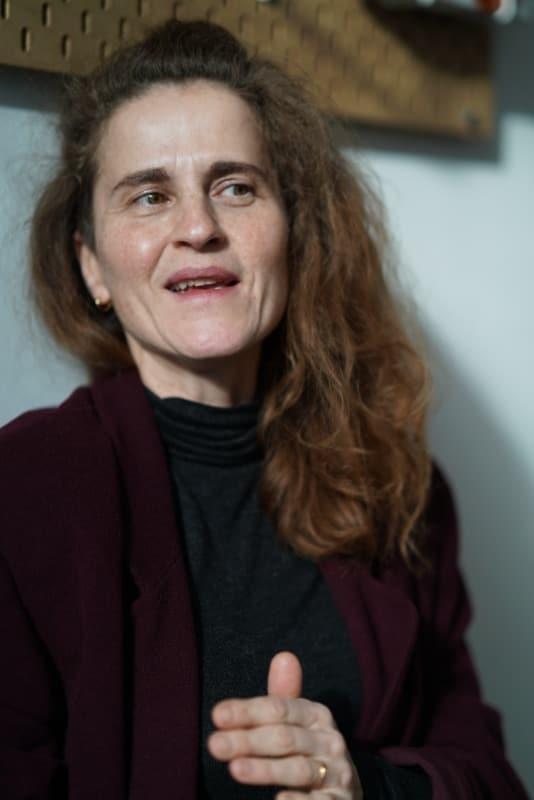 Melanie Beßler St. Pauli Textilreinigung Portrait