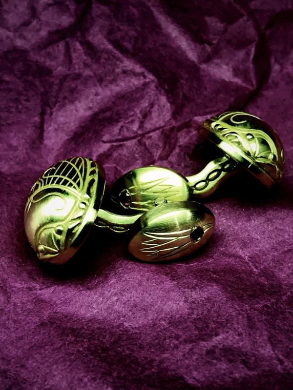 AURIM Scarab Gold Cufflings Human Posture Blog