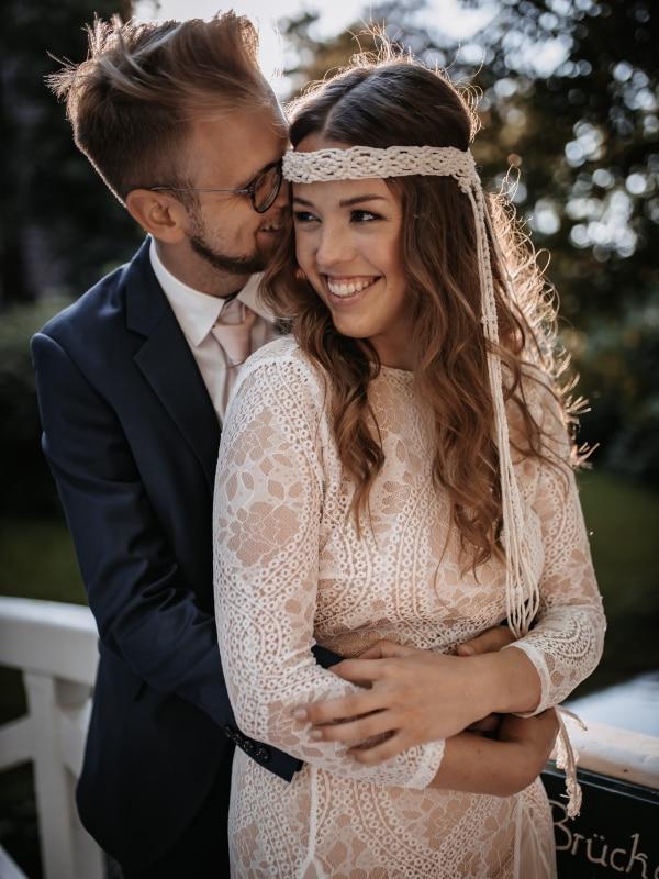Traurednerin Andrea Ebert von der Traurederei Brautpaar